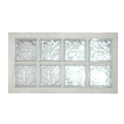Panneau de briques de verre