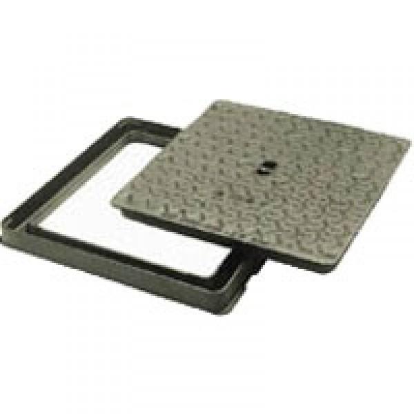 Regard hydraulique 60 x 60 fonte ductile - Regard avec grille fonte ...