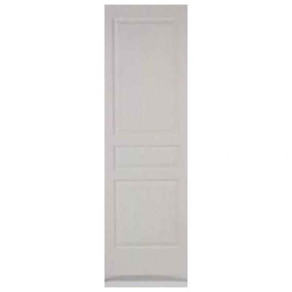 Porte int rieure postform pr peinte 3 pnx 204x73cm for Porte seule interieure