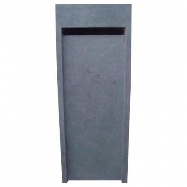 boite aux lettres en pierre bleue 40x40x104 cm. Black Bedroom Furniture Sets. Home Design Ideas