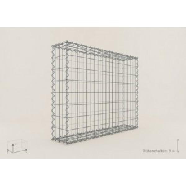 gabion rectangle 100x80x20 fil 4 mm maille 10x10. Black Bedroom Furniture Sets. Home Design Ideas