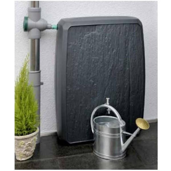 Cuve r cup rateur eau de pluie sotralentz gris 300l for Recuperateur d eau de pluie