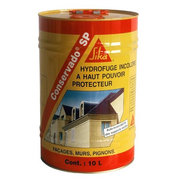 Sika Conservado SP hydrofuge, le bidon de 10 litres