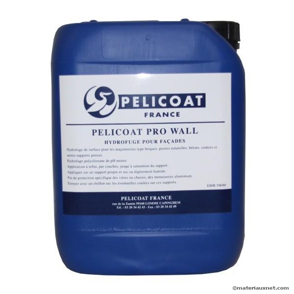hydrofuge pro wall pelicoat en bidon de 5 l. Black Bedroom Furniture Sets. Home Design Ideas