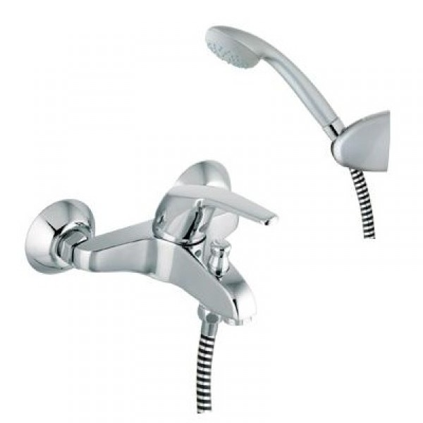 Mitigeur bain douche complet 5505 plus vp for Bain et douche ensemble