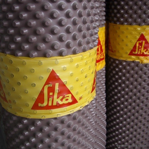 Protection de fondation sika 2x30 m tres - Protection de soubassement ...