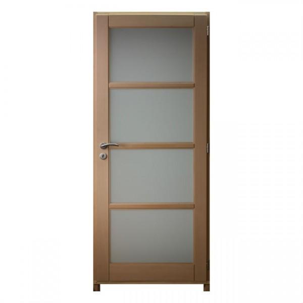 Bloc porte h tre 4crx 204x83 droit huisserie 92cm - Huisserie de porte definition ...