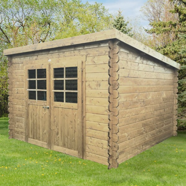 Abri de jardin bois autoclave solid brest - Abri de jardin en bois traite autoclave ...