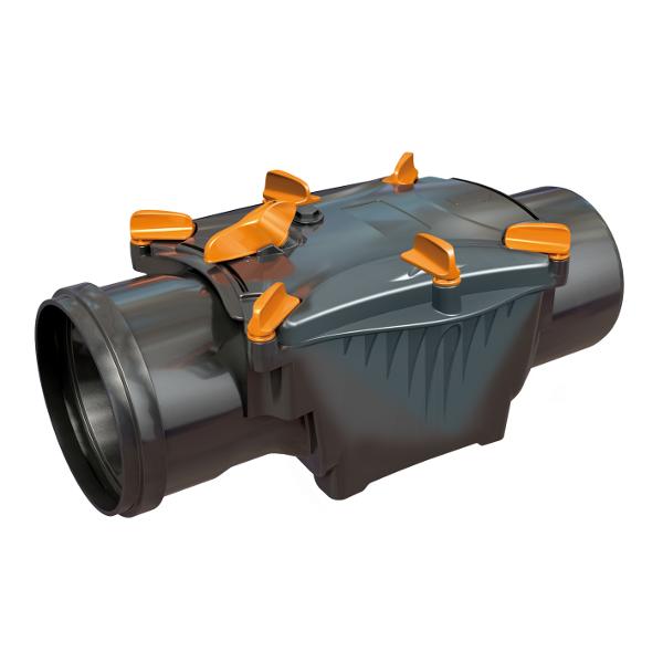 Clapet anti retour diam 100 nicoll car2t - Clapet anti retour eaux usees ...