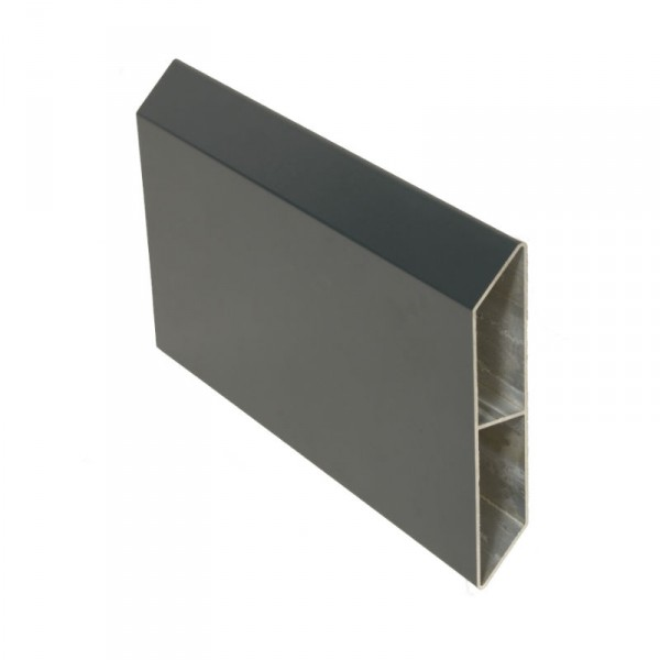 Lame aluminium 2m cl ture ambre 140 x 25 mm for Cloture alu gris anthracite