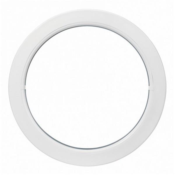 Oeil de boeuf fixe en pvc ovale 90 x 60 cm for Fenetre 50 x 50