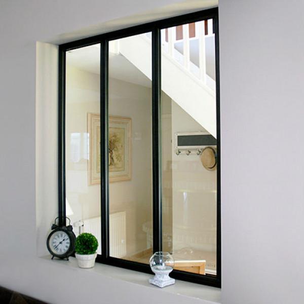 verri re atelier alu noir kit 3 crx 1080x932mm. Black Bedroom Furniture Sets. Home Design Ideas