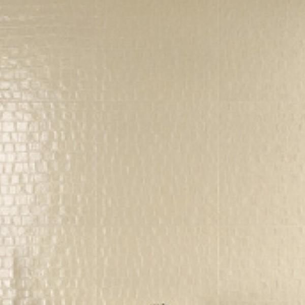 Carrelage Rex MaTouche croco ivoire effet cuir, 60x60cm, le m2