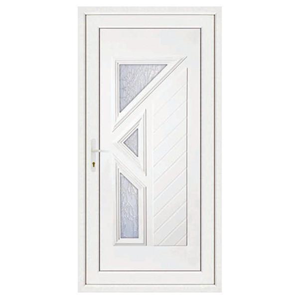 Porte d'entrée en PVC LISA droite, 215 x 90 cm