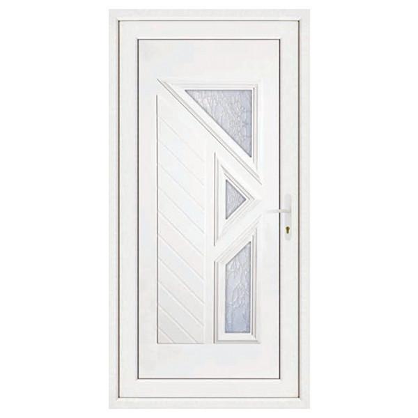 Porte d'entrée en PVC LISA gauche, 215 x 90 cm