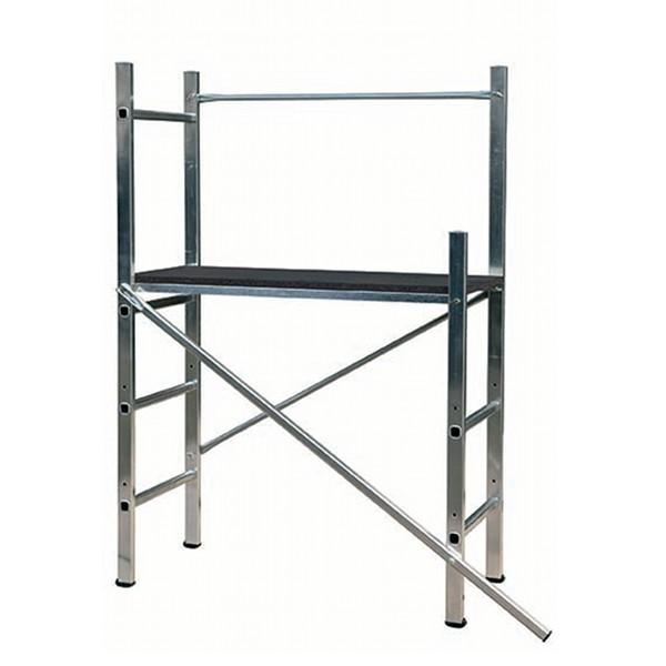 Echafaudage en aluminium MINI'UP Centaure, hauteur de travail 3m