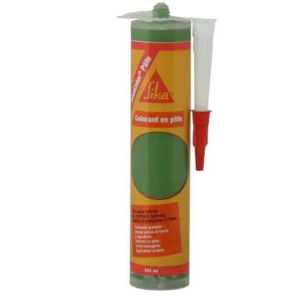 Colorant Sikacolor Pâte pour bétons et mortiers, Vert 300 ml