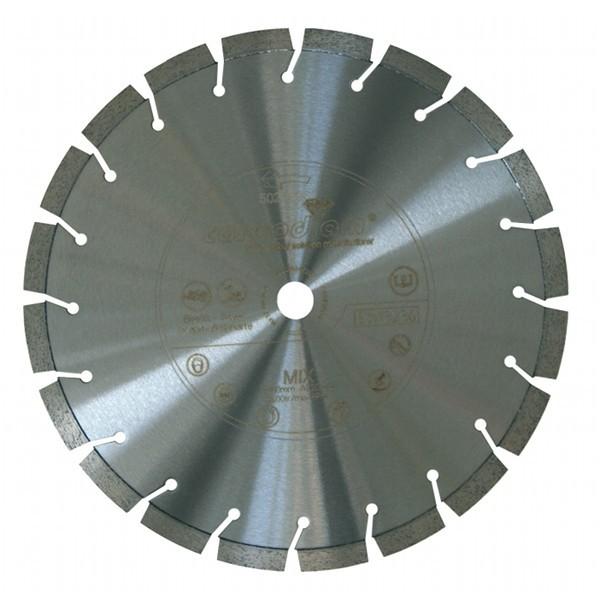 Disque diamant Mixtor Carbodiam, diam 400 mm/alésage 25,4+T mm