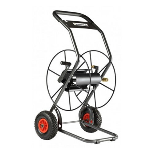 Dévidoir 2 roues Haemmerlin, capacité 85 m / diamètre 19 mm