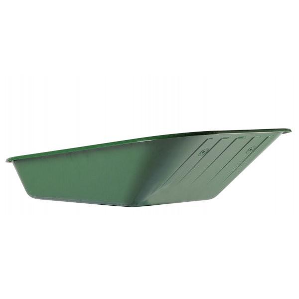 Caisse 90 l pour brouette Haemmerlin Aktiv Premium, peinte en vert