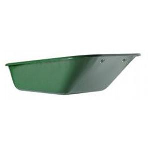 Caisse 160 l pour brouette Haemmerlin Expert Twin 160, peinte en vert