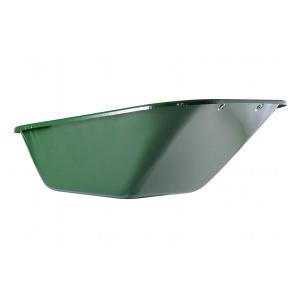 Caisse 230 l pour brouette Haemmerlin Expert Twin 230, peinte en vert