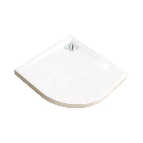 Receveur de douche Kinecompact 1/4 de rond 100 x 100 cm, coloris blanc