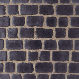 Pavés Courtstone 16,6 x 16,6 x 6 cm couleur Basalt, la palette de 5,1 M2
