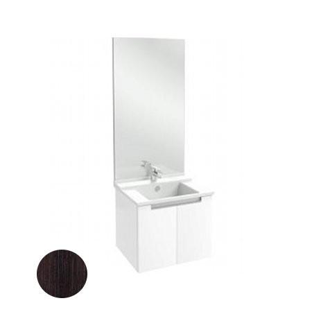 Meuble salle de bain Struktura Jacob Delafon 60 cm/portes Chêne foncé