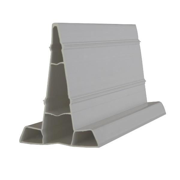 Règle à béton PVC, 40 mm x 2 m, le lot de 60 pièces soit 120 m