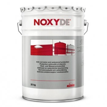 Peinture antirouille universelle Noxyde Mathys vert mousse, en 5 kg