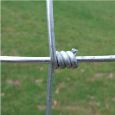 Grillage torsadé fil 2 mm, haut 1 m, maille 150 mm, 100 ml