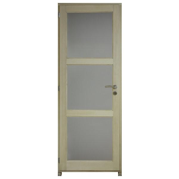 bloc porte bois exo clair 3 crx 204x83 cm droite. Black Bedroom Furniture Sets. Home Design Ideas