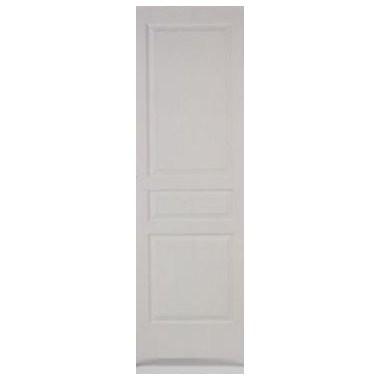 Porte intérieure postformé prépeinte 3 panneaux 204x73 cm, rive droite