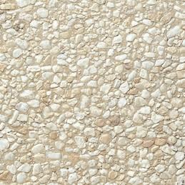 Dalle Stradal gravillon lavé 50 x 50 x 5 cm gros gravillons jaunes sur fond jaune ref 135, la palette de 10 M2