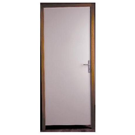 bloc porte coupe feu 1 2h pr peint 204x83 cm gauche. Black Bedroom Furniture Sets. Home Design Ideas