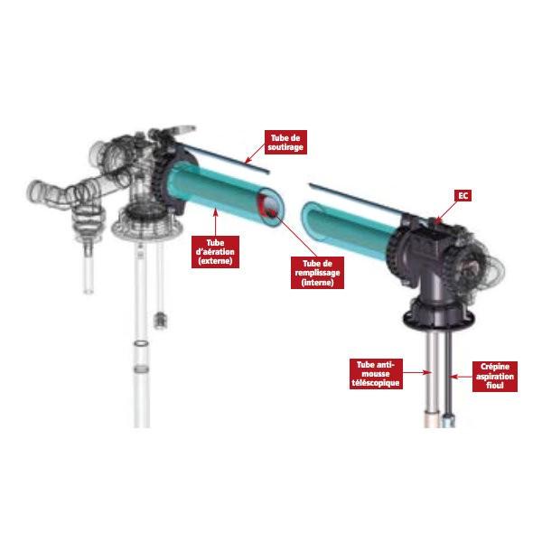 Ensemble complémentaire pour réservoir Sotralentz, EC 2012 F750