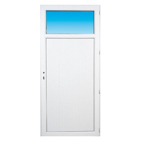Porte de service pvc OCCULUS poussant gauche, 205 x 80 cm