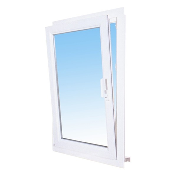 Fenêtre 1 vantail en PVC oscillo-battant 95 x 60, tirant droit