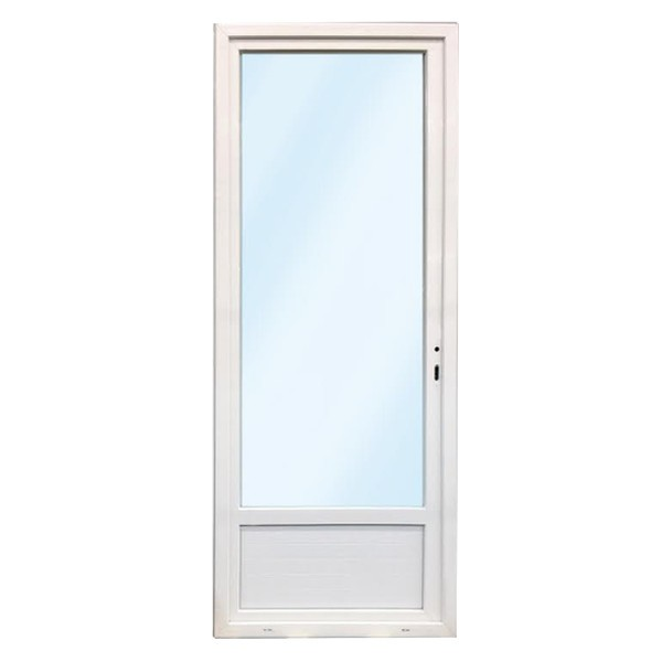 Porte fenêtre 1 vantail en PVC, 205 x 90, tirant gauche