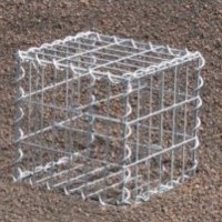 Gabion Cubique 40x40x40 - fil 4 mm - maille 5x5 cm