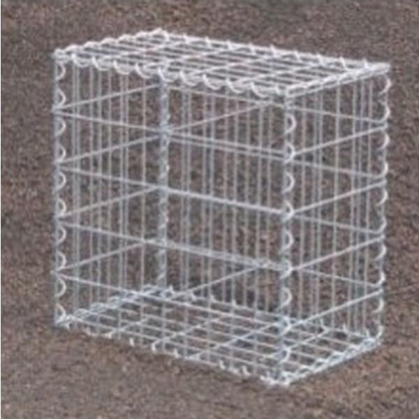 Gabion Rectangulaire 50x30x30 - fil 4 mm - maille 5x10 cm