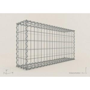 Gabion Rectangulaire 100x50x20 - fil 4 mm - maille 5x10 cm