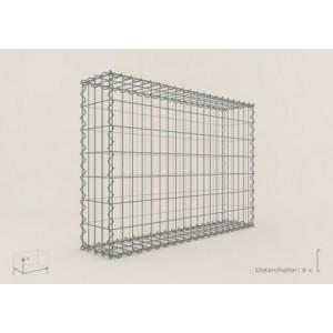 Gabion Rectangulaire 100x70x20 - fil 4 mm - maille 10x10 cm