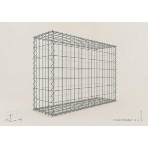 Gabion Rectangulaire 100x70x30 - fil 4 mm - maille 5x10 cm