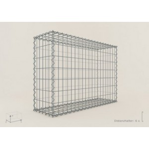 Gabion Rectangulaire 100x70x30 - fil 4 mm - maille 5x5 cm