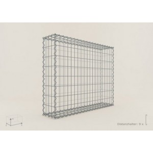 Gabion Rectangulaire 100x80x30 - fil 4 mm - maille 5x10 cm