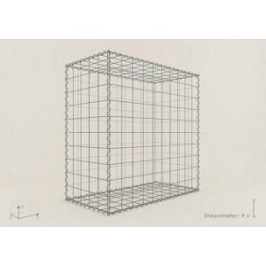 Gabion Rectangulaire 100x80x50 - fil 4 mm - maille 5x5 cm