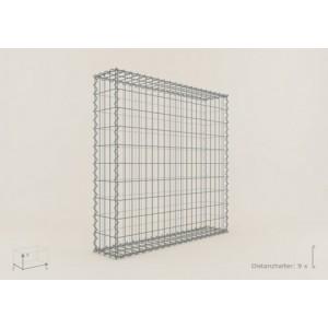 Gabion Cubique 100x100x20 - fil 4 mm - maille 5x10 cm