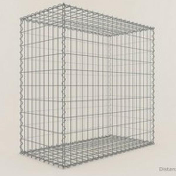 Gabion Cubique 100x100x50 - fil 4 mm - maille 10x10 cm